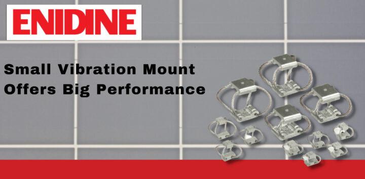 Enidine's Compact Rope Isolators